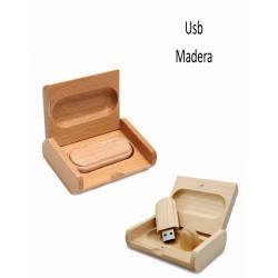 USB902 8 GB PENDRIVE MADERA