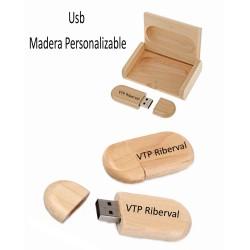 USB905 16 GB PENDRIVE MADERA PERSONALIZADO