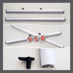 Soporte barra expositora aluminio