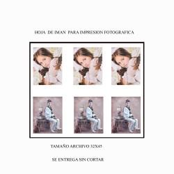 Imán para impresión fotográfica Mod 732