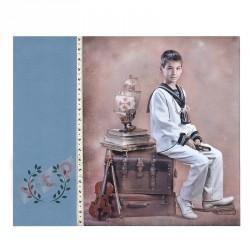 Álbum Comunión Foto Vertical + Lienzo Mod W811L
