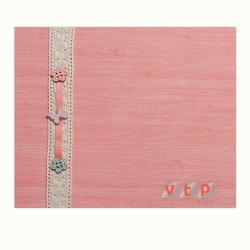 Mod W826 Álbum Madera Rosa con decoración