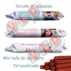 Mod Minibollo chocolate personalizado