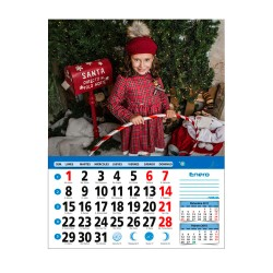 Calendario faldilla grande