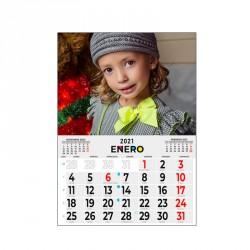 Calendario faldilla iman 23 x 15 Pack 4 unidades