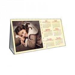 Calendario sobremesa triangular vertical