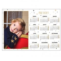 Calendario pared horizontal 1 foto