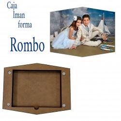 Mod Caja con Imagen Silueta Rombo
